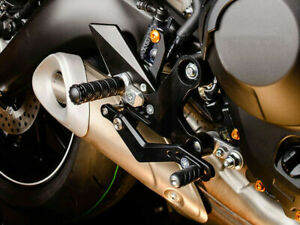 For Yamaha YZF-R6 YZF R6 2015-2020 Rearset Footrest Passenger Pedals FootPegs