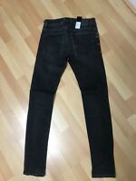NWD MMENS Diesel TROXER Stretch Denim R9F66 BLACK Slim W26 L30 H5 RRP£150