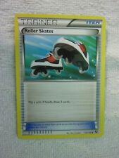 Carte pokémon trainer roller skates 125/146 peu commune xy carte anglaise