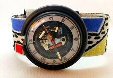 MONTRE WATCH SWATCH POP AG 1988 FINISH LINE PWBB132 VINTAGE