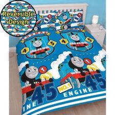 Lenzuola e federe blu Thomas lavabile in lavatrice