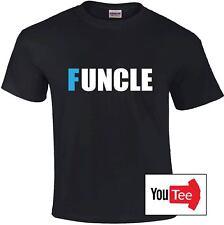 FUNCLE T-shirt tshirt fun uncle xmas nephew niece father grandad god-father top