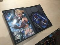 Death By Degrees Sony Playstation 2 PS2 Game Complete w/ Demo Disc and Manual