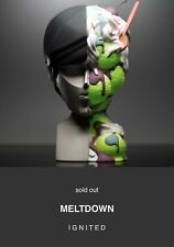 """COARSE TOYS MELTDOWN IGNITED 16"""" VINYL FIGURE LIMITED EDITION IN HAND SOLD OUT"""