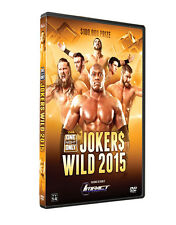 Official TNA Impact Wrestling One Night Only: Jokers Wild 2015 Event DVD