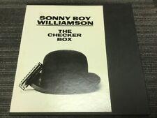 SONNY BOY WILLIAMSON The Checker Box LP Japan 4 LP box set with Insert
