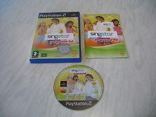 PS2 game - Singstar Popworld (complete PAL)