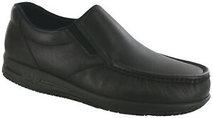 SAS Men's Shoes Navigator Non-Slip Black Many Sizes And Widths New In The Box