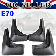 SET Mudflaps FOR BMW X5 E70 2007-2013 FRONT & REAR Splash Mud Guards Mud Flaps