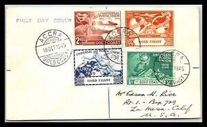 GP GOLDPATH: GOLD COAST COVER 1949 FIRST DAY COVER _CV757_P13