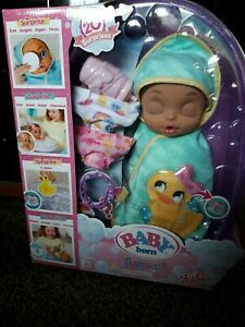 Zapf Creation Baby Born doll 20+ Surprise with Bathtub toys and all accessories