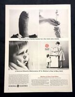 Life Magazine Ad GENERAL ELECTRIC Mother's Day Appliances 1964 AD