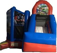 Jumping Castle THOMAS  Jumping Slide Castles Party Event Childrens *HIRE ONLY*