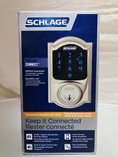 "SCHLAGE ""Camelot"" Electronic Deadbolt BE469 D CAM619 New"