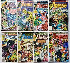 Lot of 8 Vintage Marvel The Avengers Comics (#GS2 A6 161 164 175 176 177 181)