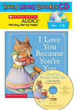 I Love You Because You're You Read Along Audio CD & paperback by Liza Baker 2006