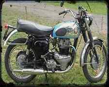 Bsa Super Rocket 02 A4 Photo Print Motorbike Vintage Aged