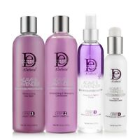 DESIGN ESSENTIALS Agave & Lavender Blow Dry & Silk Press Collections STEP 1~4
