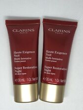Clarins Super Restorative Night Cream x2 1oz Creams