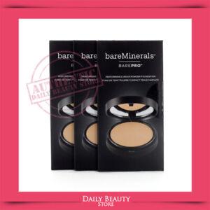 Bareminerals BAREPRO Performance Wear 5 Shades Sample X 3 Packs BRAND NEW FAST S
