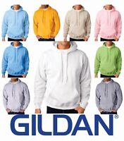 Gildan G18500 Pullover Hooded Hoodie Sweatshirt Blank Plain Heavy Blend S - 5XL