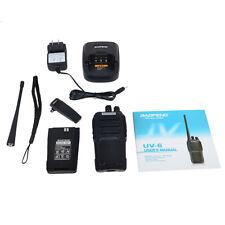 Baofeng UV6 Walkie Talkie 2 Way Ham FM Radio 400-470/136-174Mhz Dual Band BF-UV6