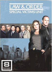 Law And Order - Special Victims Unit - Series 8 - Complete =REGION 1 US IMPORT