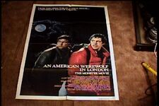 AMERICAN WEREWOLF IN LONDON ORIG MOVIE POSTER 1981 HORROR
