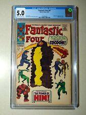 Fantastic Four #67 CGC 5.0 1st Appearance Him Adam Warlock 1967