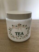 Tea Jar Eternal Beau pattern from Johnson Brothers Storage Jar Vintage Retro