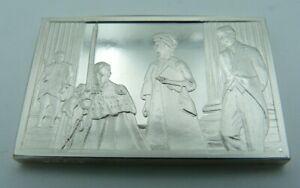 925 Solid Silver Ingot - '750th Anniversary Magna Carta' - Prince Philip - 1965