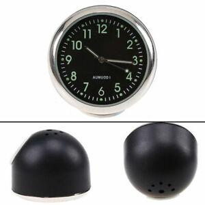 1x Car Clock Electronic Quartz Watch Ornaments Decor Luminous For Mercedes-Benz
