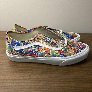 New VANS Liberty Fabrics Old Skool Tapered Floral Sneakers Men's 10