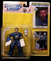 Grant Fuhr Buffalo Sabres NHL Hockey Action Figure 1993 Kenner Starting Lineup