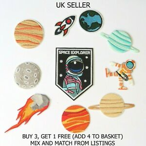 Fashion Patches Sew Iron On Patch Clothes Applique Badge Craft Individual Space