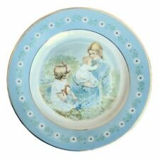 Vintage Avon Decorator Plate Mother's Day & Child Tenderness Pontesa Spain 1974
