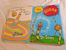 Dr. Seuss Duo By Random House: The Lorax & Oh, The Places You'll Go! (Anni. Ed.)