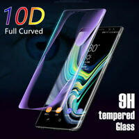 10D Tempered Glass LCD Screen Protector For Samsung Galaxy S8 S9 S10 + Note 8 9