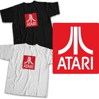 Atari Classic Symbol Arcade 70s 80s Game Fun Mens Womens Kids Unisex Tee T-Shirt