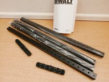 4 DEWALT 75694 TOUGH SYSTEM WORKSHOP RACKING STRUTS P910689 + CONNECTORS