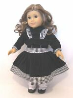 "Doll Clothes 18"" Doll Victorian Dress Fits American Girl Doll Rebecca"