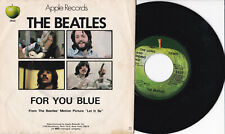"""The Beatles -The Long And Winding Road / For You Blue- 7"""" 45 USA 1970"""