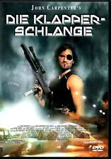 DIE KLAPPERSCHLANGE John Carpenter - Kurt Russell DVD - Deutsch Englisch english