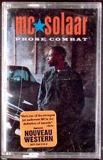 MC Solaar – Prose Combat LP CASSETTE COHIBA USA RAP HIP HOP 1994 SEALED OOP