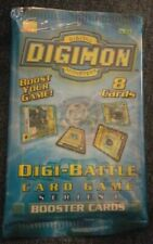 "2000 Digimon - ""Series 1"" 8-Card Sealed Booster Pack X1"