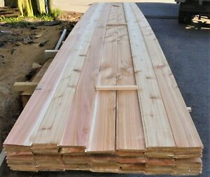 British Western Red Cedar Tongue And Groove Timber Cladding (20m²) - TGV