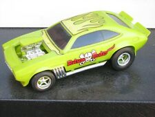 """Poison Pinto"" Ford Pinto drag racing model kit, built up"