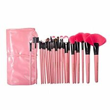 24 Pcs Makeup Brushes Professional Wool Cosmetic Makeup Brush Set Kit