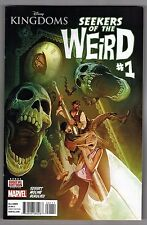 DISNEY KINGDOMS: SEEKERS OF THE WEIRD #1 - MICHAEL DEL MUNDO COVER - 2014
