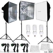 3PCS Linco Studio Softbox Studio Video Photo Lighting Photography Light Kit
